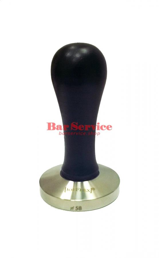 Темпер JoeFrex D58 Elegance черный выпуклый сталь в Брянске