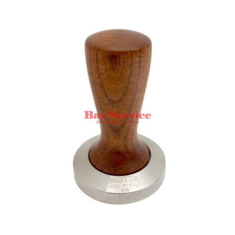 Темпер Мотта SLIM 58 мм. (плоский) рукоятка из дерева в Брянске