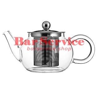 Чайник «Проотель»;  термост.стекло;  0,6л;  D=78мм в Брянске