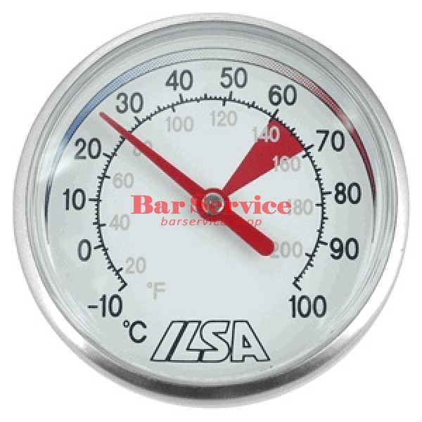 Термометр д/молока; сталь; D=45,L=138/125,B=55мм; металлич. в Брянске