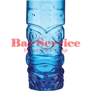 Стакан д/коктейлей, стекло «Тики» синий в Брянске