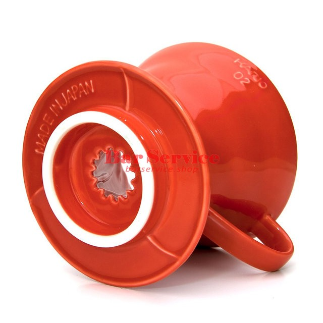 Hario VDC-02R. Воронка керамическая красная. 1-4 чашки в Брянске