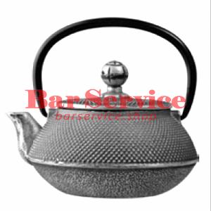 Чайник с ситечком; чугун; 650 мл; D=8.7,H=9.4,L=14.5; черный в Брянске